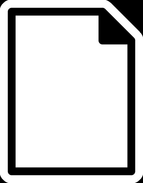 sheet doc document