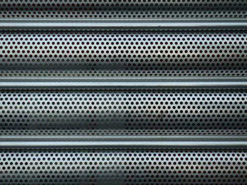 sheet holes roller shutter