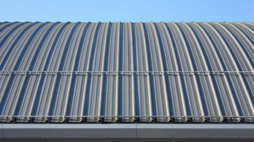 sheet metal roof rip architecture