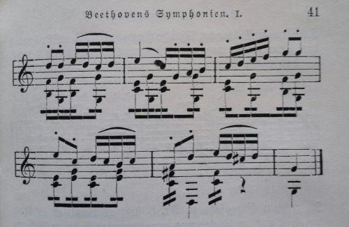 sheet music music symphony