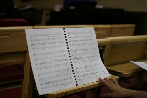 sheet music church praise