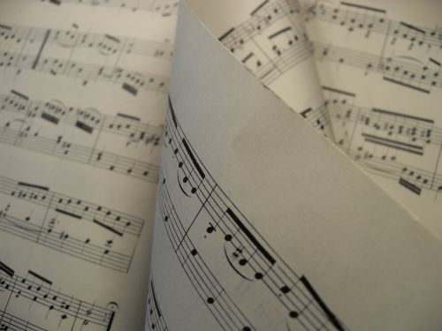 sheet music music melody