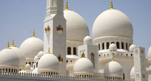 sheikh zayed grand mosque white mosque