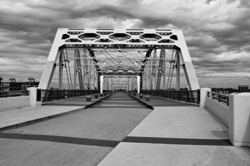 Shelby Pedestrian Bridge