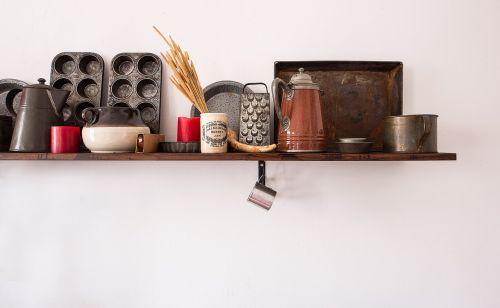 shelf kitchen antique