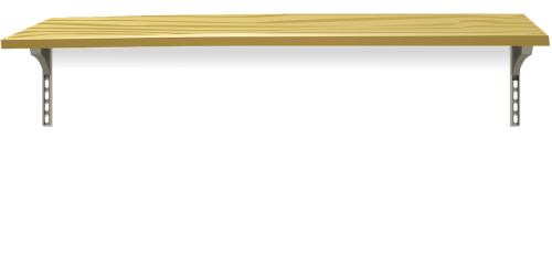 shelf wood wooden