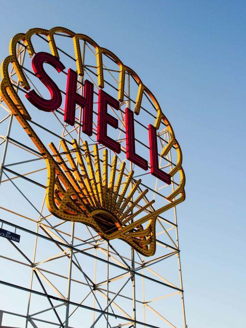 shell billboard gas