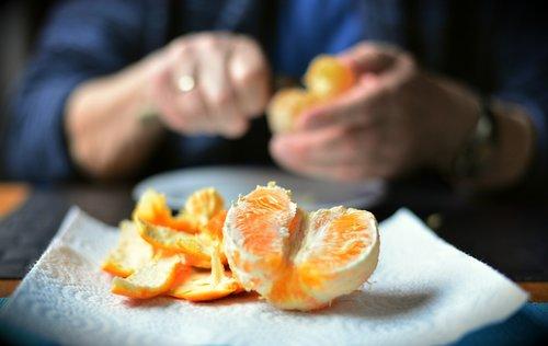 shell  orange peel  peel