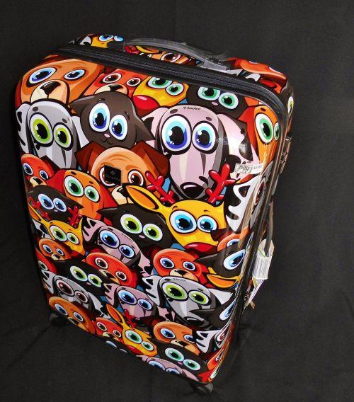 shell case luggage modern