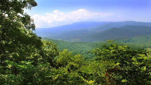 shenandoah valley  virginia  landscape
