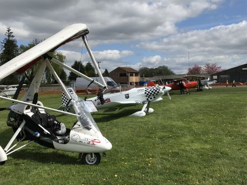 sherburn airfield fly in light aircraft