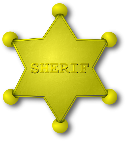 sheriff gold star