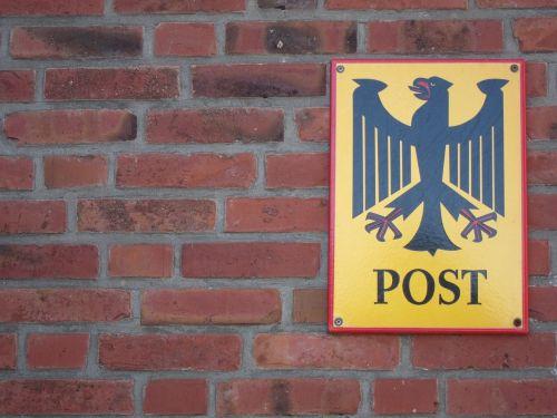shield post deutsche bundespost