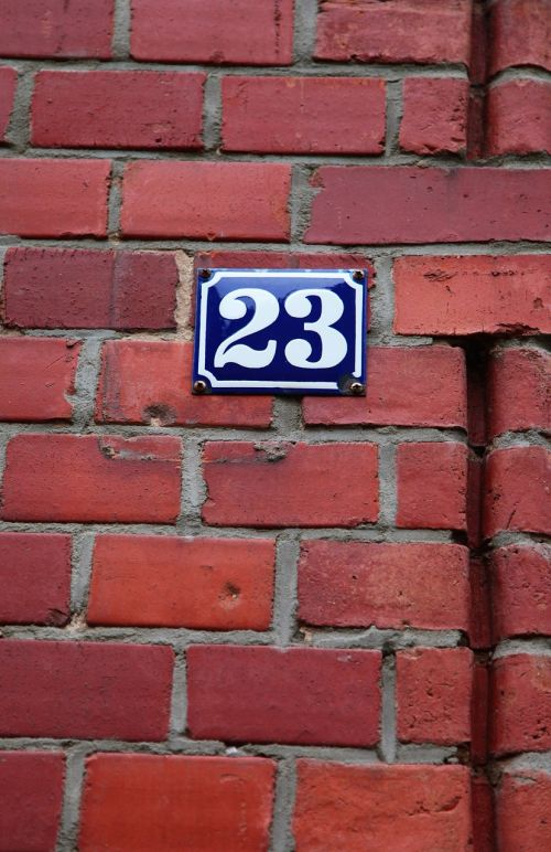shield house number number
