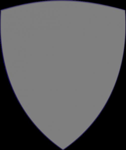 shield grey plain