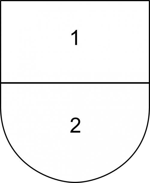 shield parted partitioned