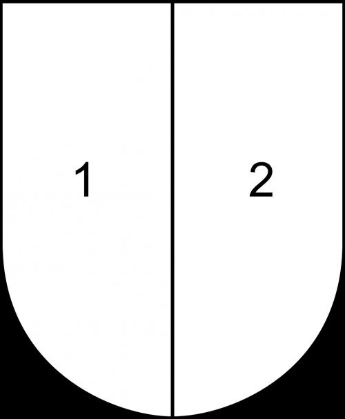 shield partitioned half