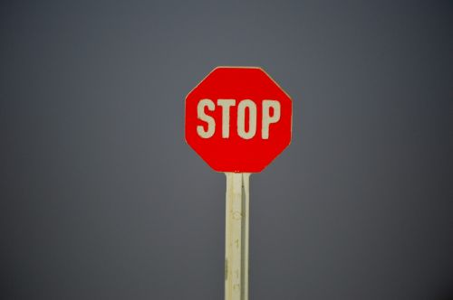 shield stop traffic sign