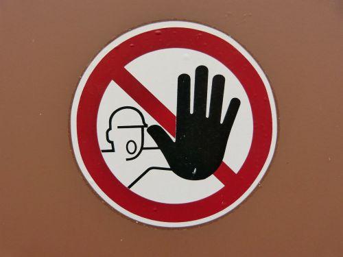 shield warning warnschild