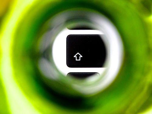 shift key shift button