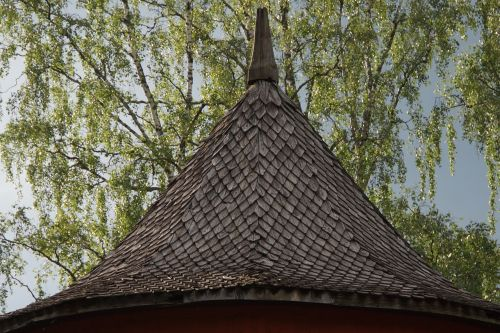 shingle roof roof wooden ceiling