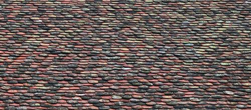 shingle roof old weathered
