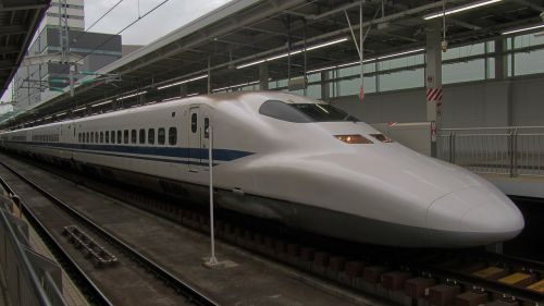 shinkansen express train japan