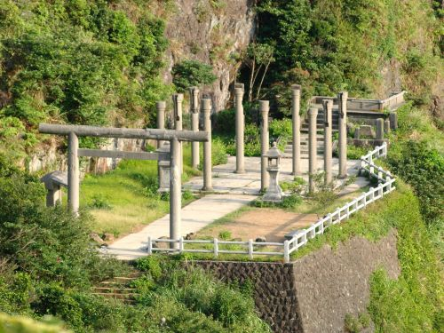 Shinto Shrine Remains