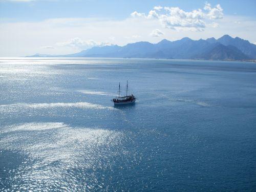 ship sea booked