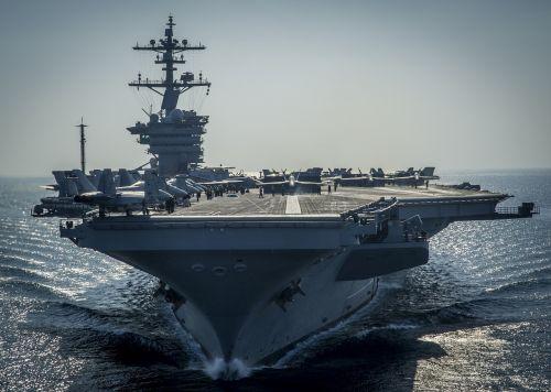 ship aircraft carrier us navy