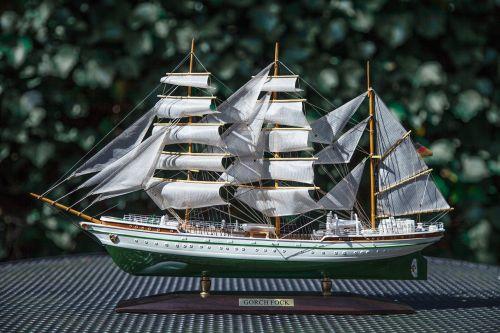 ship gorch fock model