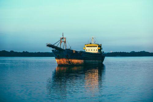 tanker ship sea