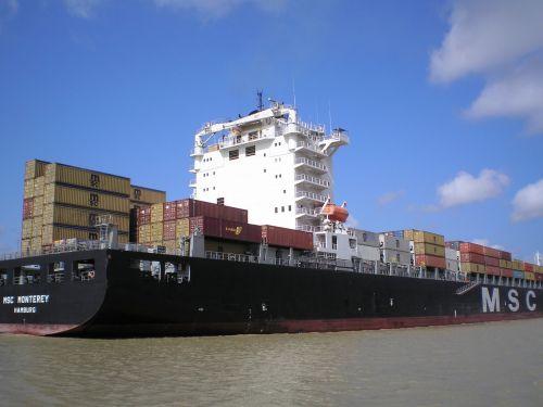 ship cargo panama canal