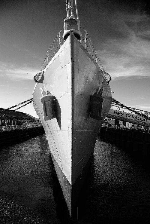 ship hms cavalier marine