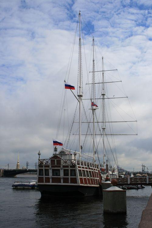 ship sailing masts
