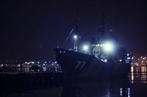 ship nature docks