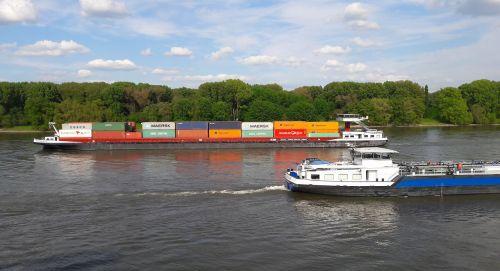 ship rhine shipping