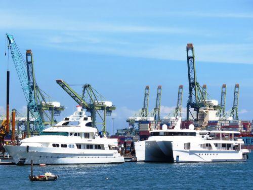 ship harbor shipyard