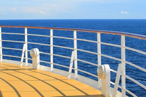 ship sun water
