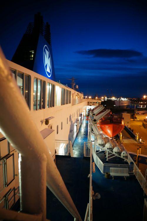 ship port sea
