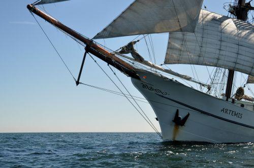 ship sail boot