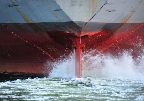 ship stern propeller