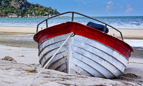 ship beach boat parking