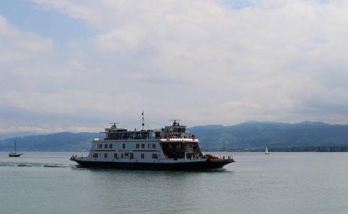 ship motor ship car ferry friedrichshafen