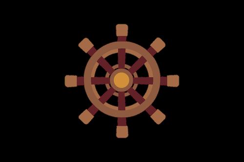 ship  helm  steering