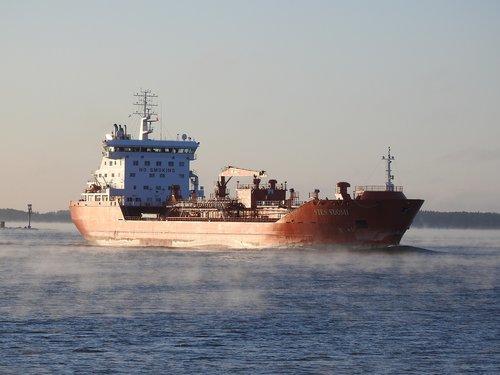 ship  sea  tanker