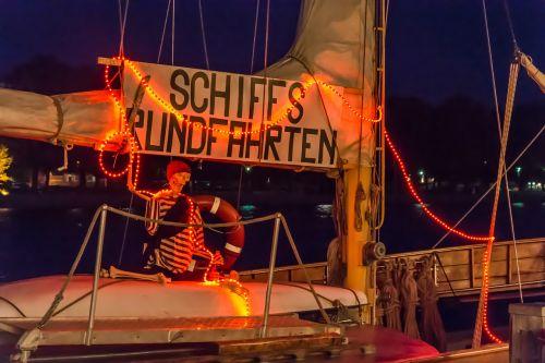 ship boot sea