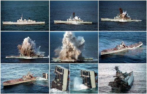 ship sunk torpedo