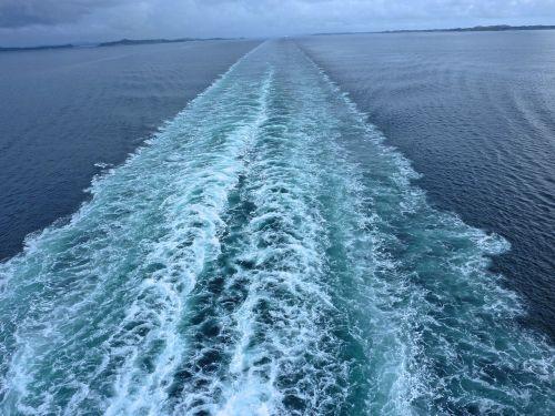 ship traces motor