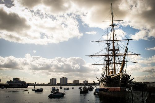 ship portsmouth harbour